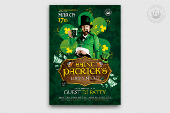 St Patricks Day Flyer Template