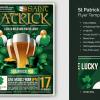 St Patricks Day Flyer Template V2