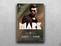 Electro sessions Flyer Template psd for photoshop