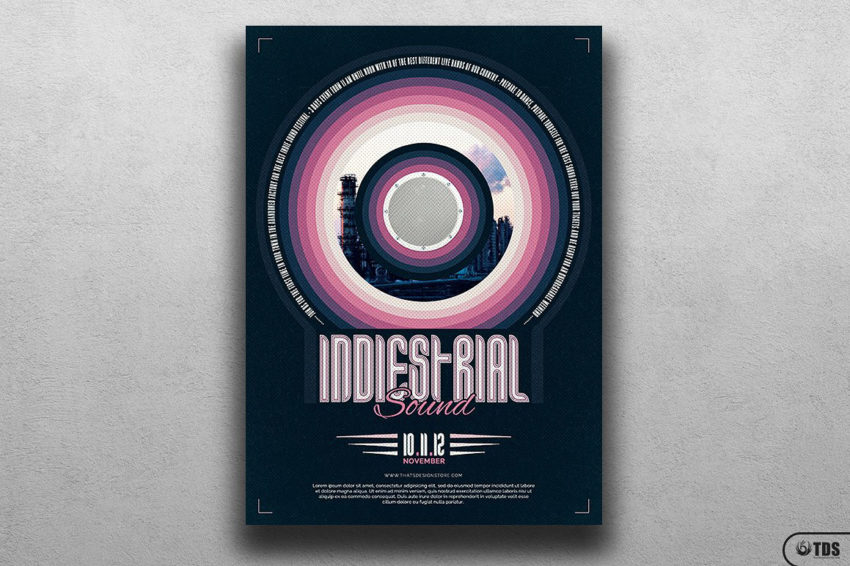 Indie Fest Flyer Template V4