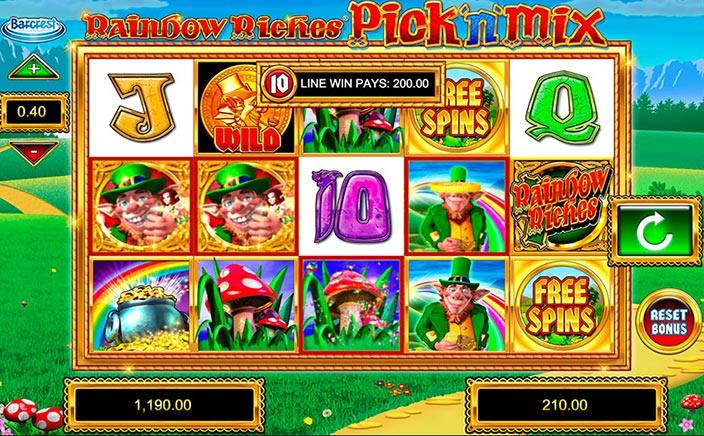 Game Review: Rainbow Riches Pick 'N' Mix