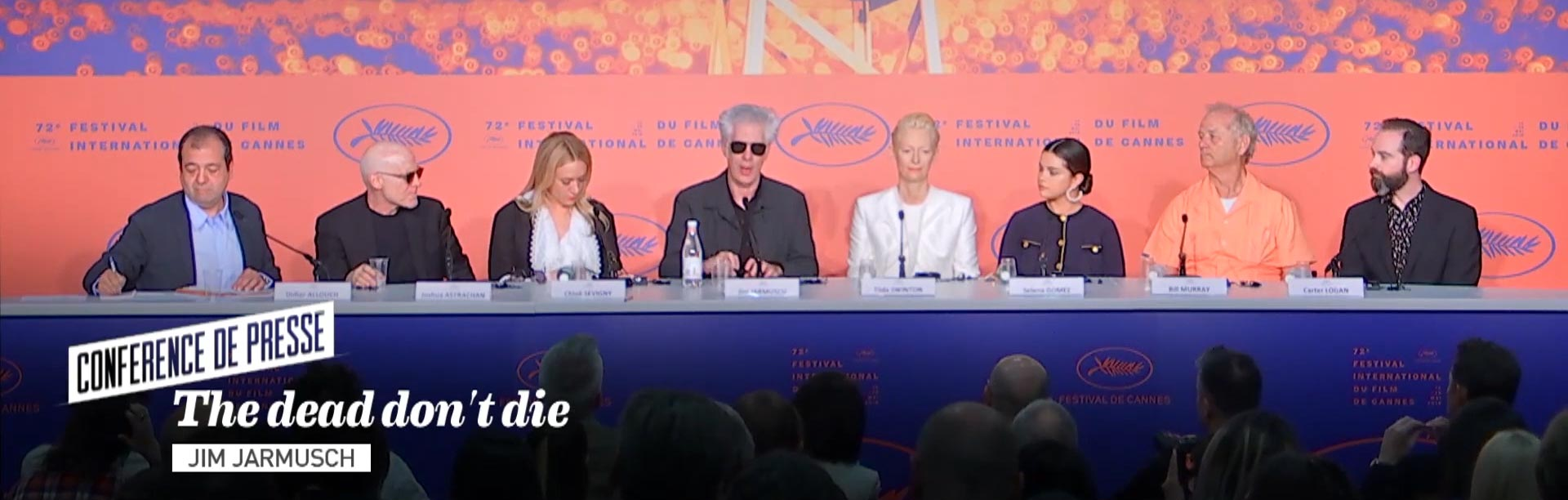 Cannes 2019: The Dead Don't Die's Selena Gomez, Bill Murray, Tilda Swinton, Chloe Sevigny, and Jim Jarmusch Talk Zombies and Their Favourite Horror Movies