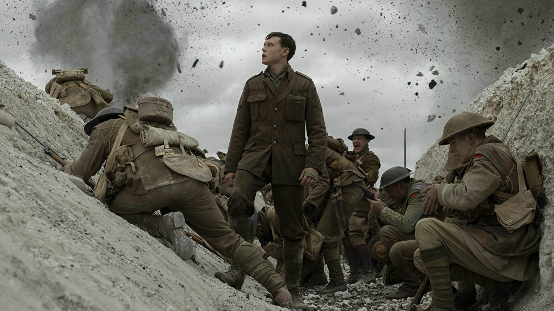 Cumberbatch and Firth Class up 1917's Explosive Trailer