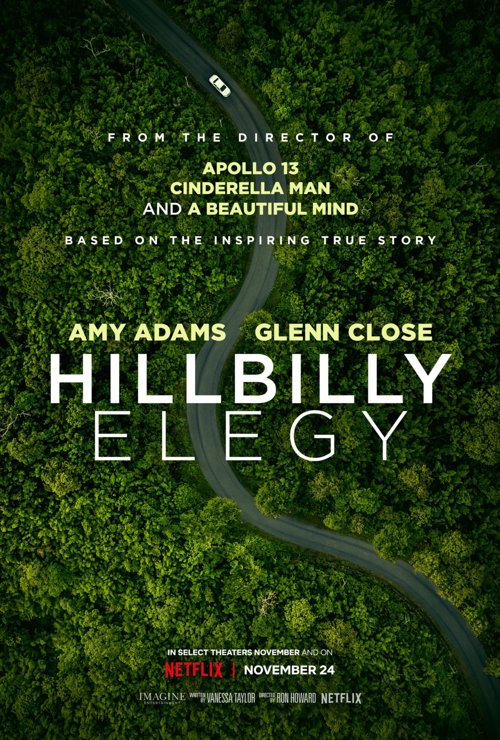 Hillbilly Elegy Trailer: Glenn Close Has the Oscar in Sight