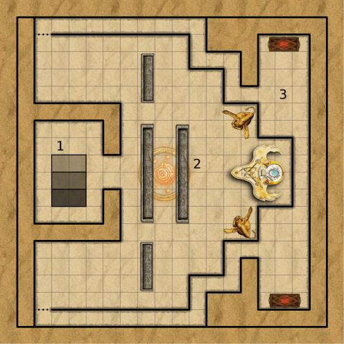 DM Map - Final Chamber