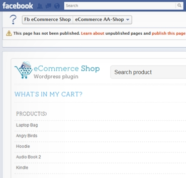 Create WordPress Online Shop And Integrate It With Facebook