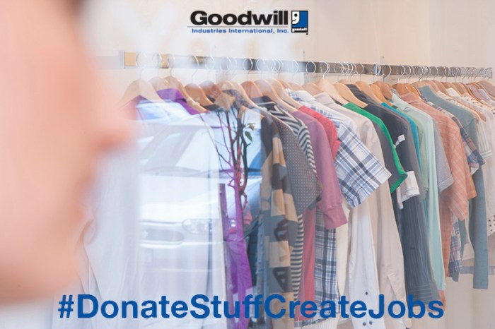 #donatestuffcreatejobs