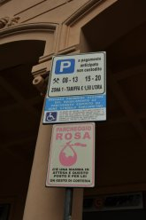 pink parking