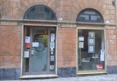 facade of the glass shop