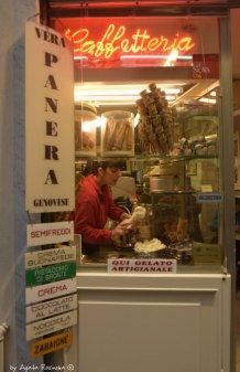 shop window of creamery