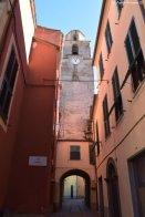 church tower Varese Ligure