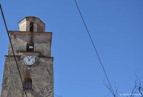 church tower in Varese Ligure