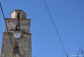 church tower in Varese Ligure