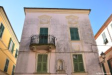 house of the old town of Varese Ligure