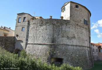 houses in defensive tower
