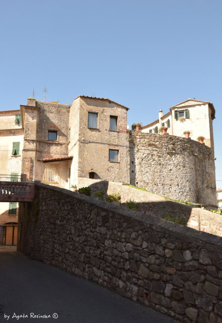 view on the old town Sarzana