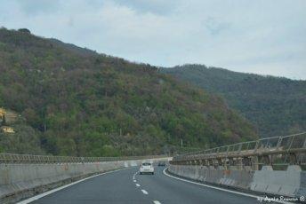 liguryjska autostrada