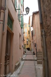 streets of Mentons old town