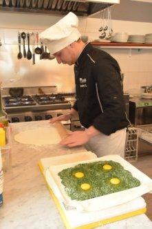 druga warstwa ciasta francuskiego