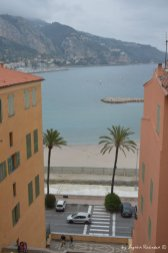 view on the Ligurian shore