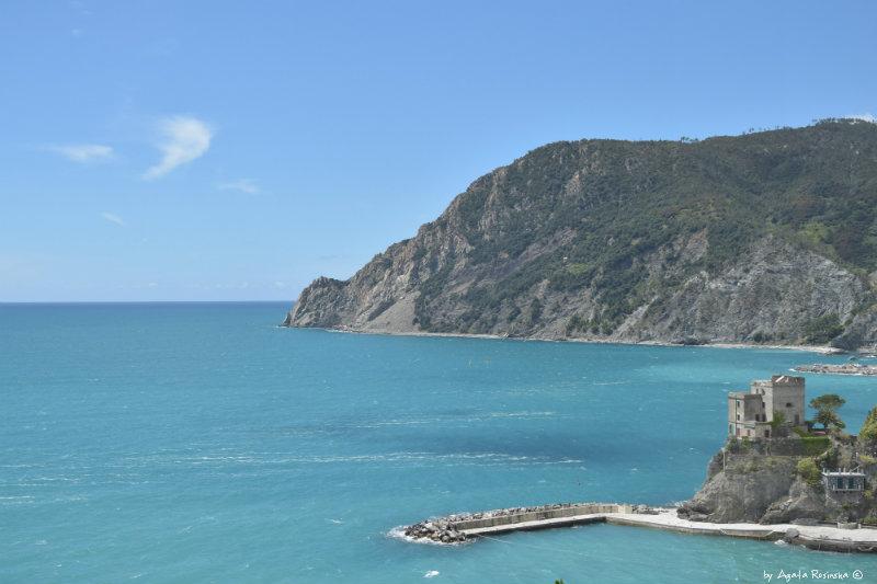 view on Monterosso from Sentiero Azzurro