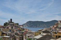 view on Vernazza from Sentiero Azzurro