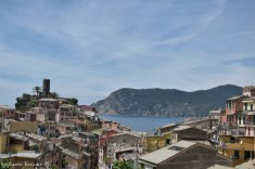 view on Vernazza from Sentiero Azzurro
