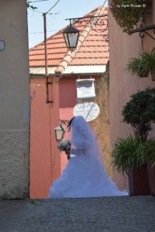 bride in Cervo