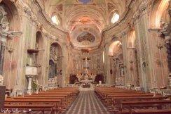 interiors of church in Cervo