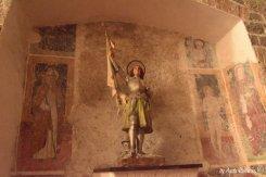 sculpture in St Katherin church