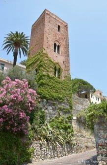 medieval walls in Noli