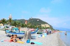 spiaggia dei pescatori Noli