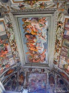 Villa Pallavicini celling