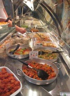 windowcase of gastronomia in Lavagna