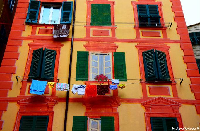 fake windows Camogli