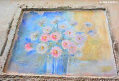 flower painting Apricale