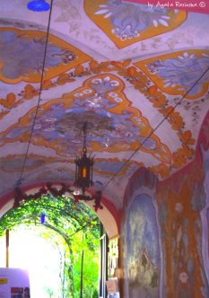 frescos castle Apricale