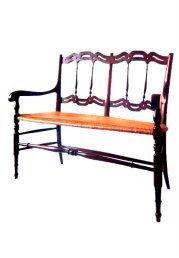 double chair by Casoni book