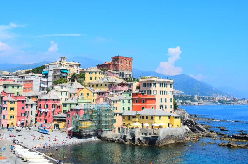 Boccadasse, najurokliwsza dzielnica Genui!