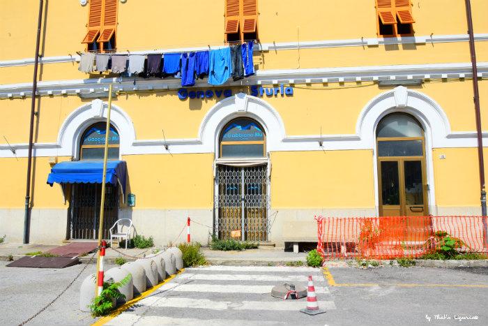 Genova Sturla railway station