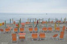 sandy beach ponente ligure