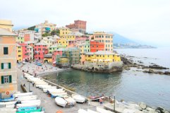 view on Boccadasse