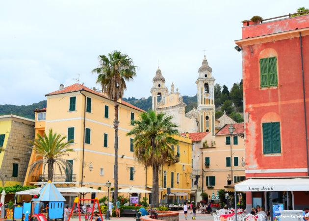 view on Laigueglia