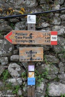 path Manarola Volastra Corniglia