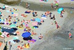 Monterosso public beach