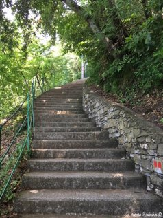 first part of trail Punta Chiappa