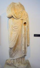 marble statute Luni Liguria