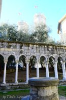 cloister Genoa next to Columbus House