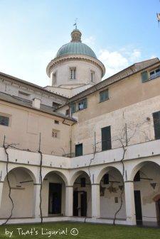 cloister Savona