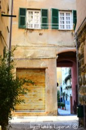 streets of historical centre Savona